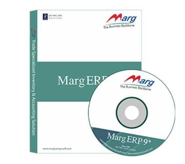 Marg ERP9+Silver Accounting Software and Inventory