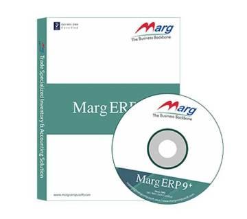 Marg ERP9+ গোল্ড একাউন্টিং সফটওয়্যার এন্ড ইনভেনটরি