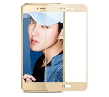 3D Full cover Tempered Glass For Huawei Gr3 2017 - Gold
