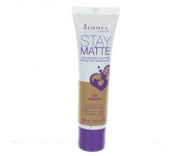 RIMMEL Stay Matte Liquid Mousse Foundation 10ml