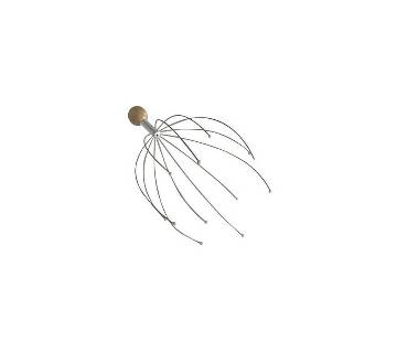 Stainless Steel Head Massager