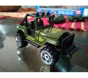 Metal Army Car Toy