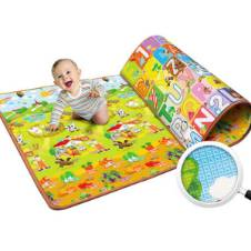 plastic baby playing mat