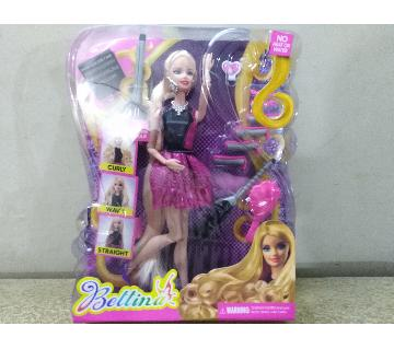beltina doll Curl Hair Doll