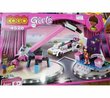 Girls lego