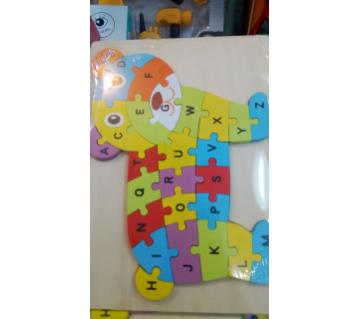 puzzle wooden