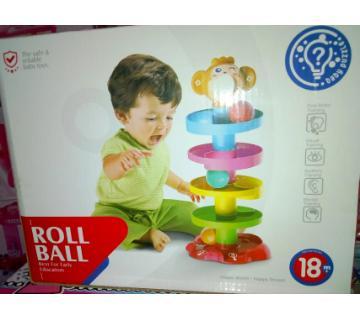 baby roll ball