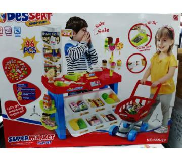 super market pretend play