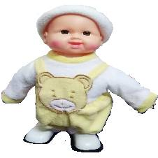 plastic battery operated doll