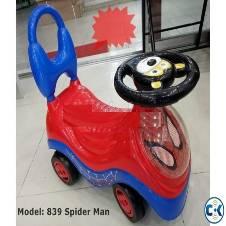 Spiderman Push Car