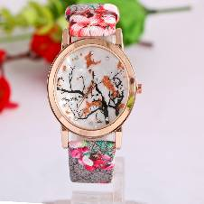 Baishakhi floral Printed ladies wrist watch