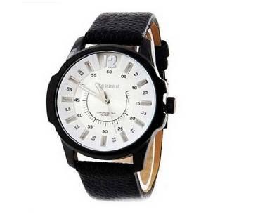 Curren White Casual Wrist Watch