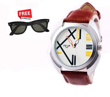 Felix time Menz Casual Wrist Watch