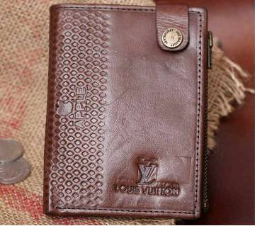 Louis Vuitton Gents leather made regular shaped wallet - copy