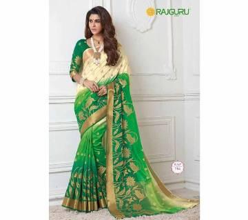 Rajguru Raw Silk Saree