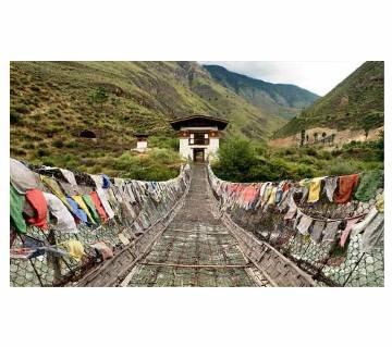 Dhaka - Paro - Thimphu – Phunakha- Paro(Bhutan)