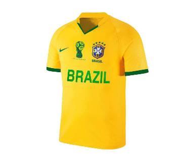 World Cup 2018 Brazil Home Away Short Sleeve Jersey