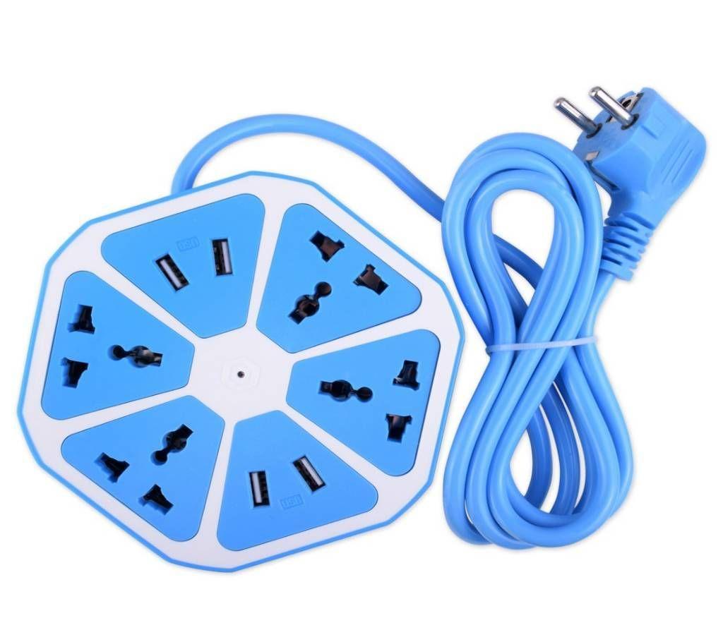 মাল্টিপ্লাগ উইথ 4 USB পোর্ট বাংলাদেশ - 934739