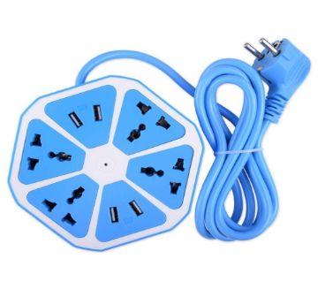 Multiplug with 4 USB port