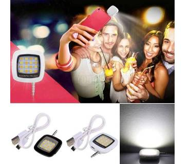 Portable 16 LED Selfie Flash Light