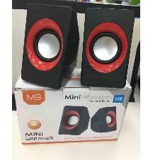 mini music USB 2.0 Computer Audio Speaker Rechargeable Speaker M9