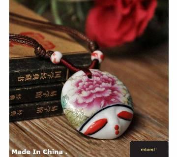 Handmade Atreus Ceramic Pendant