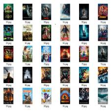 50 Pieces 3D movies Collection DVD [Play in Computer]