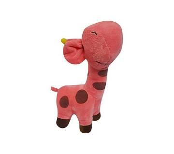 Cute Giraffe কটন ডল ফর কিডস- pink