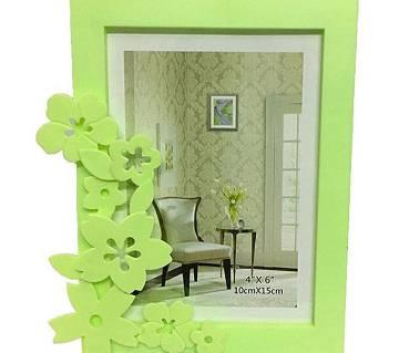 wedding Photo Frame with Flower Design