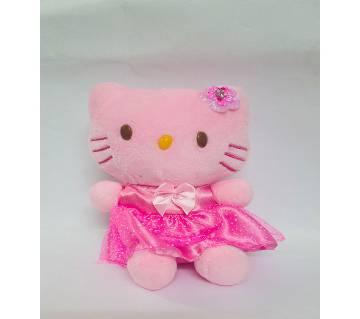 Cute Hello Kitty Cat কটন ডল ফর কিডস- পিঙ্ক