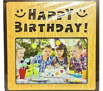 Birthday Photo Frame - family image picture frame