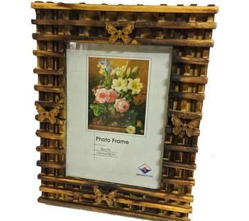 বাটারফ্লাই ফটো ফ্রেম- Wedding wooden frame