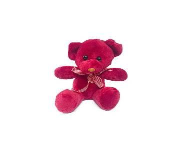 Cute teddy bear কটন ডল ফর কিডস- Lovely red