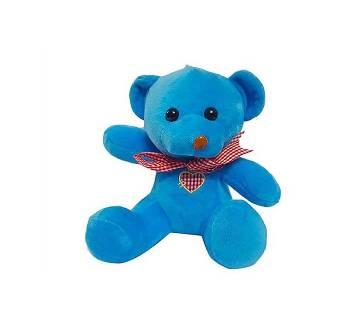 Beautiful Teady Bear কটন ডল ফর কিডস- Cute blue Gift