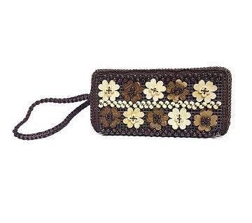 Flower Designed Handcrafted হ্যান্ড ব্যাগ ফর উইমেন