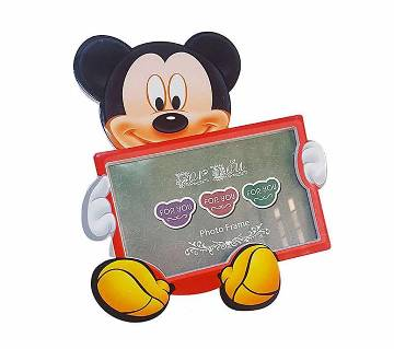 Mickey Mouse Disney Photo Frame - red