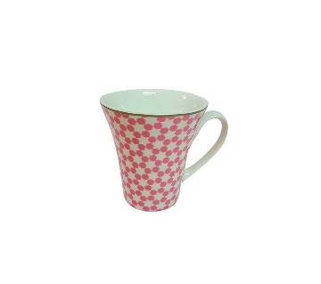 Starry Ceramic Coffee Mug - Pink
