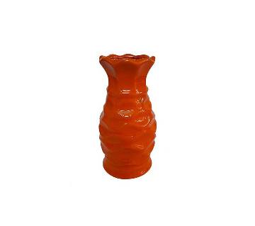 Single Color Ceramic ফুলদানি - Red