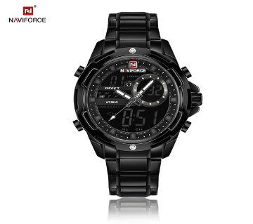 NAVIFORCE Luxury Brand Men Army Sport Watched Mens Stainless Steel Quartz Male Analog Date Clock Relogio Masculino রিস্টওয়াচ