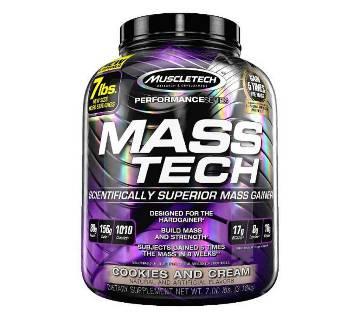 Mass Tech (MUSCLE TECH) Supplement  (7 lbs-3.18KG)