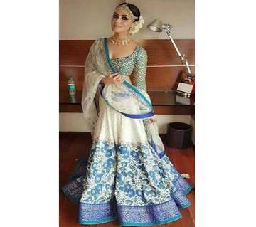 Indian Georgette Heavy Embroidery Work Lehenga - Copy