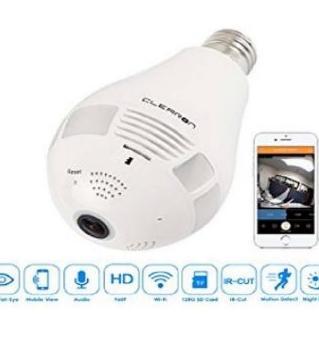 Bulb wifi IP Camera Review