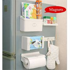 5 IN 1 MAGNETIC REFRIGERATOR SHELF