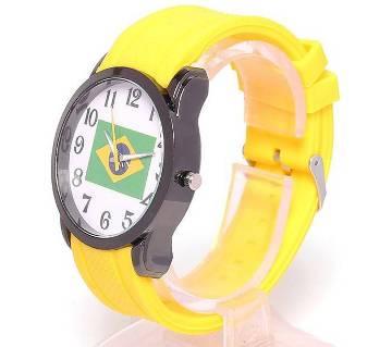 Brazil theme based watch for men
