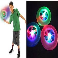 LED Frisbee Flying Disc Toy Outdoor Fun