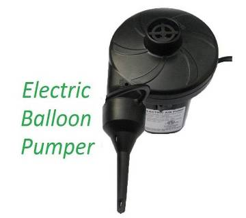 mini electric balloon pumper portable