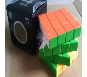 DS cube 4X4 STICKERLESS speed puzzle Hi-Quality