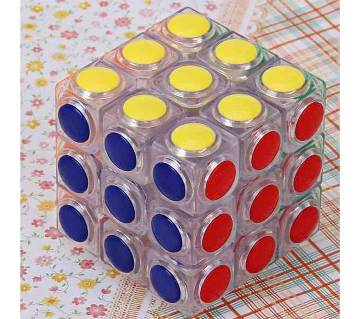 Dot Design Transparent 3x3 Magic Cube