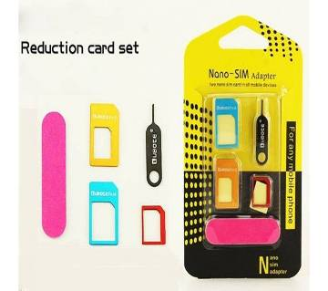 Nano Micro & Standard sim Aapter with Eject kit