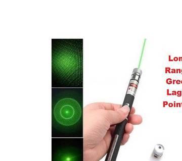 DANGER Green laser pointer any desired targets